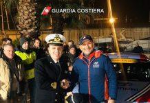 Giulianova, Gabriele Tarquini in visita alla Capitaneria di porto