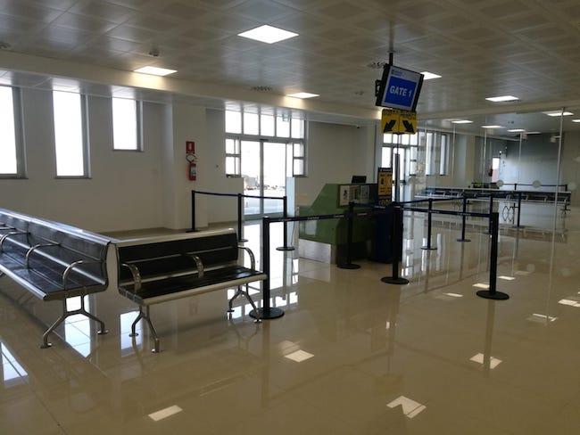 gate aeroporto Pescara