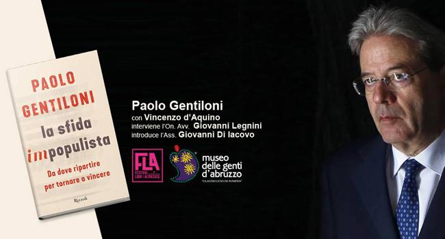 Gentiloni Pescara 1 dicembre 2018