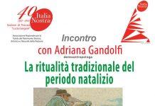 Ritualità tradizionale del periodo natalizio, incontro con Adriana Gandolfi