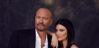 Laura Pausini e Biagio Antonacci in concerto a Pescara