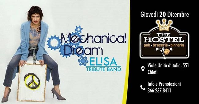 mechanical dream 20 dicembre