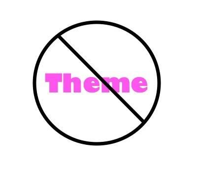 no theme