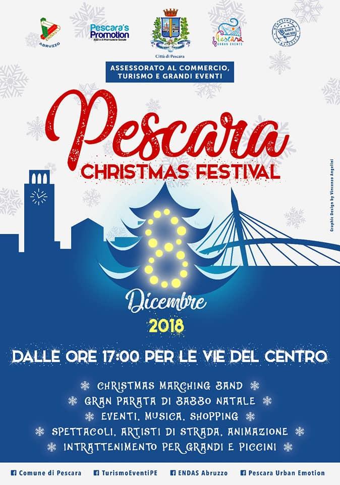 Eventi Di Natale.Eventi Di Natale A Pescara 2018