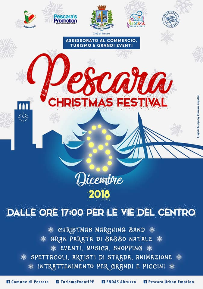 Eventi Natale Pescara Christmas Festival 2018