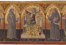 polittico Madonna del Melograno