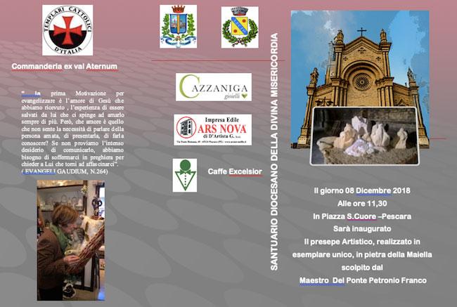 presepe Sacro Cuore Pescara