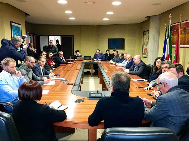 riunione Pezzopane