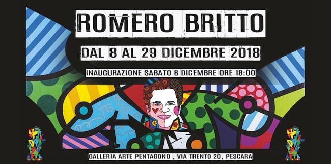 Romero Britto mostra Pescara