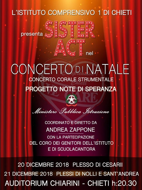 sister act natale 2018
