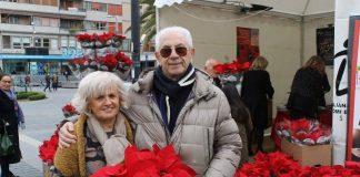 Stelle Ail, 2018, il presidente Cappuccilli con la responsabile dei volontari Katia Tini
