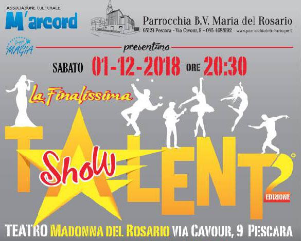 talent show 2018 Pescara