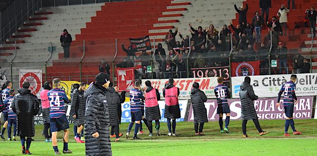 Teramo Calcio buon pari a Pesaro, due rigori falliti