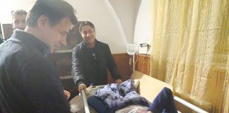Campli, visita del premier Conte alla casa famiglia don Benzi