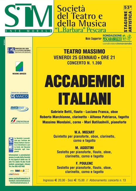 accademici italiani 25 gennaio 2019