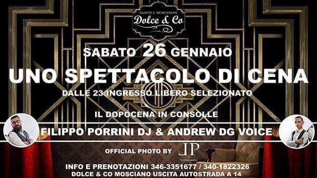 dolce and co 26 gennaio