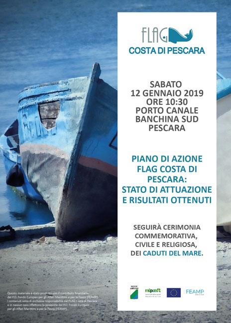 Pescara, domani manifestazione per le vittime del mare