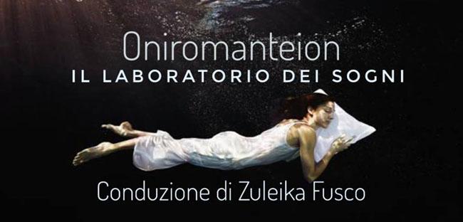 Il Laboratorio dei Sogni a Pescara con Zuleika Fusco