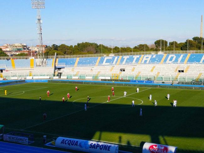 Amichevole Pescara - Fano 1-2