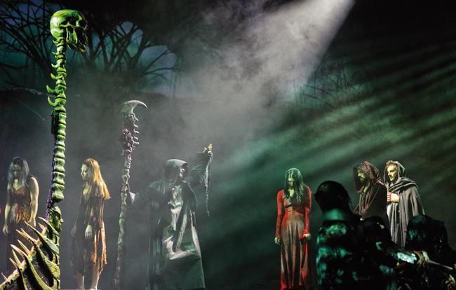 La Divina Commedia Opera Musical al Teatro Massimo di Pescara