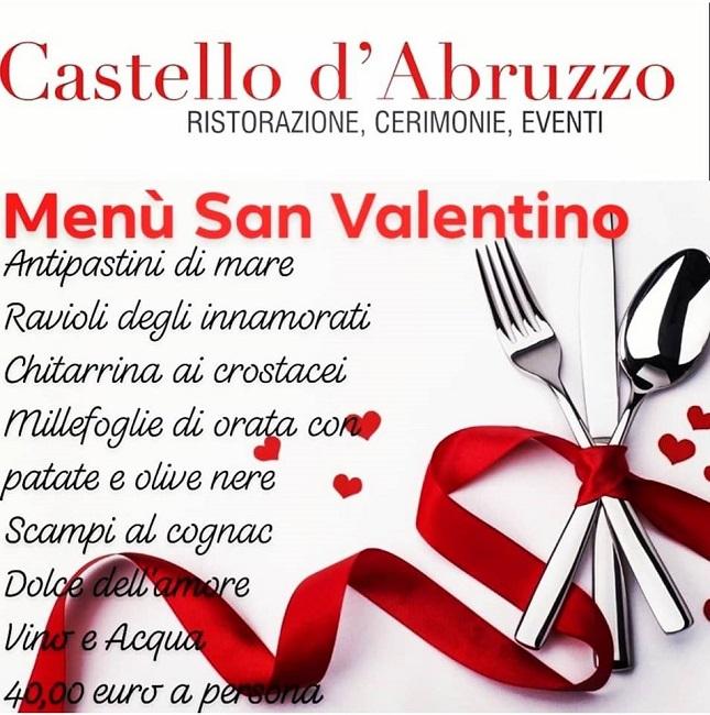 castello abruzzo san valentino
