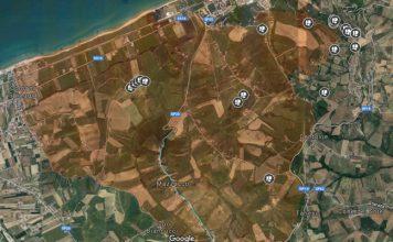 mappa rifiuti Borsacchio
