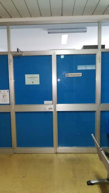 reparto allergologia Pescara 2