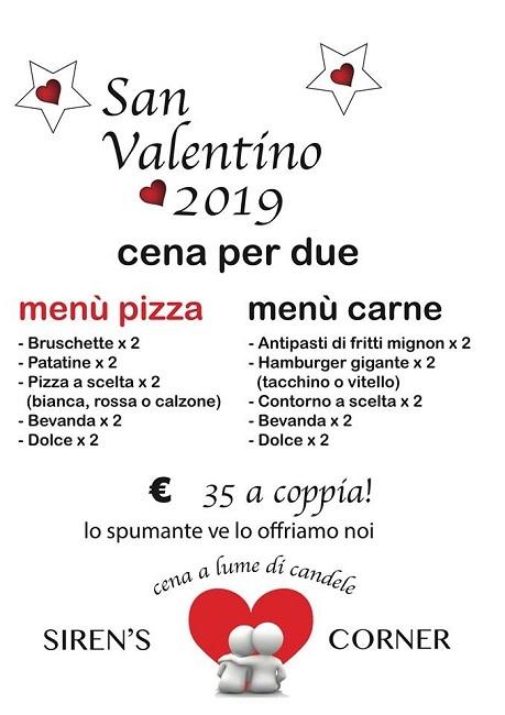 siren's corner san valentino 2019