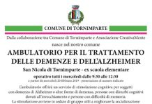 Tornimparte ambulatorio demenze