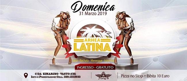 arhea latina 31 marzo