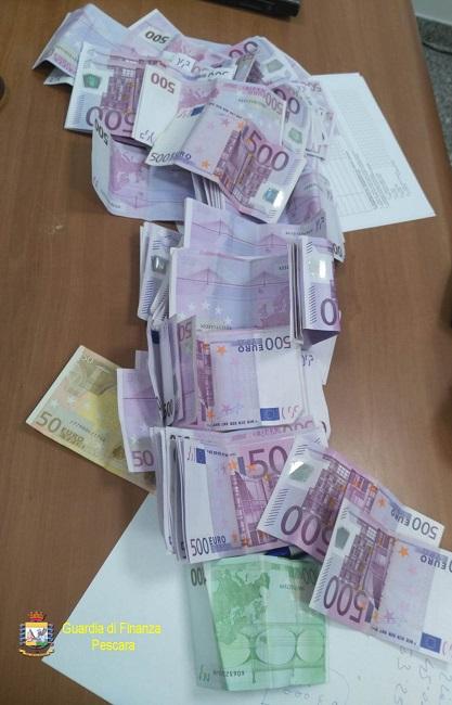 banconote sequestrate