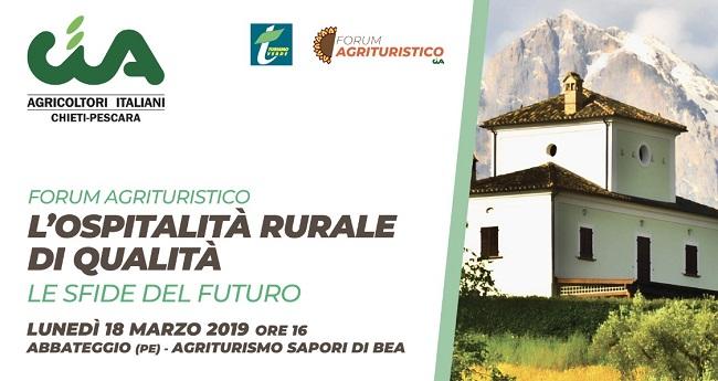 forum agriturismo 18 marzo 2019