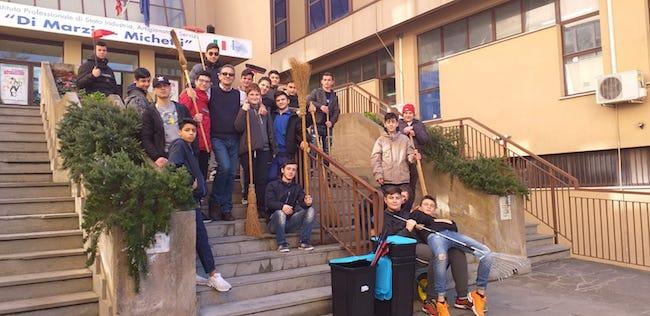 gruppo studenti di marzio