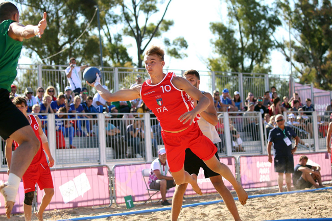 nazionale beach handball Chieti