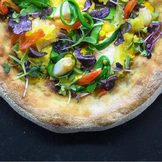 pizza biscottata gourmet