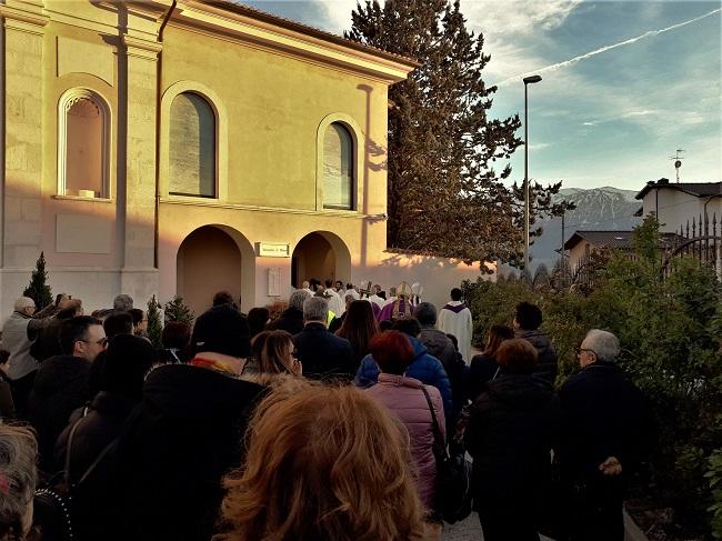 riapertura Monastero Paganica