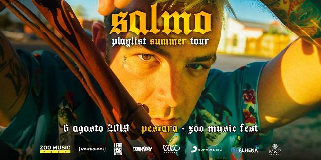 Salmo 6 agosto 2019 Pescara