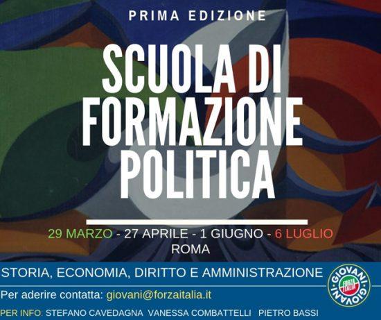 scuola formazione politica giovani fi roma