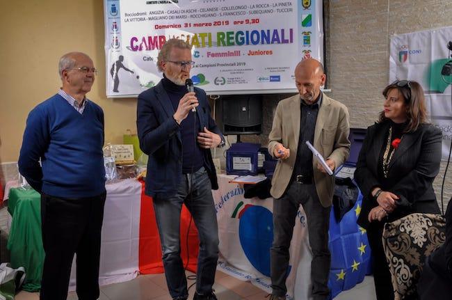 Campioni Regionali di bocce, oggi la premiazione a Gioia dei Marsi