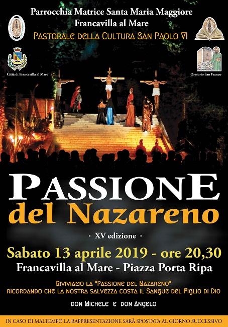 Passione del Nazareno_manifesto