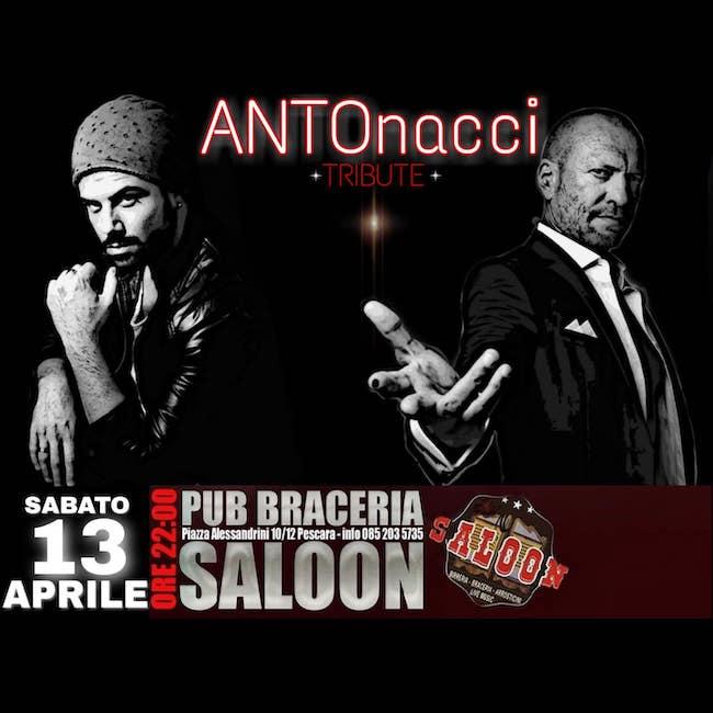 Antonacci tribute 13 aprile 2019