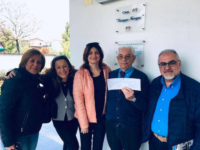 casa ail donazione istituto comprensivo Pescara 6