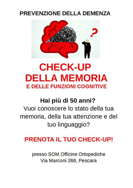 checkup memoria Pescara
