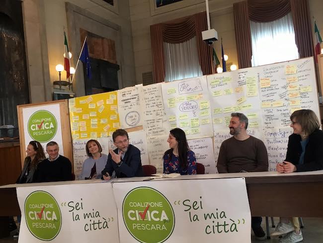 conferenza coalizione civica