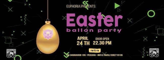 easter ballon party 24 aprile 2019