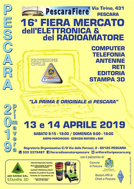 fiera mercato elettronica radiamatore-pescara aprile 2019