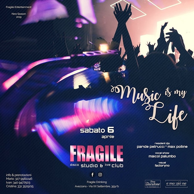 fragile 6 aprile