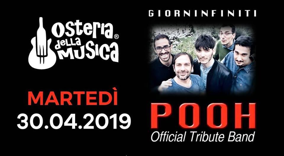 giorninfiniti pooh tribute 30 aprile 2019
