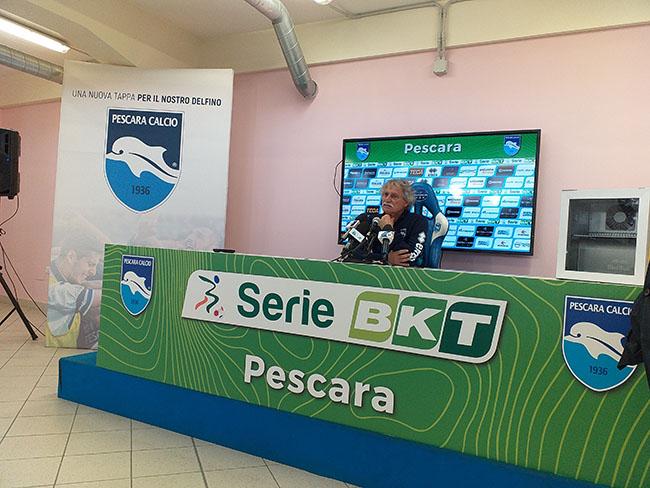 Giuseppe Pillon conferenza stampa