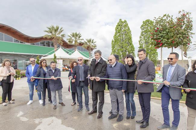 Floriviva 2019, taglio del nastro con il Presidente Marsilio